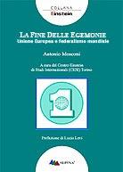 Antonio Mosconi - Unione Europea e Federalismo mondiale - Copertina